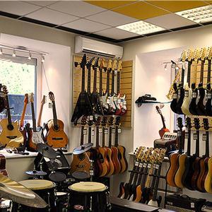 Музыкальные магазины Дарьинского